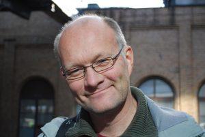 Stefan Johansson, lärare Journalistlinjen.