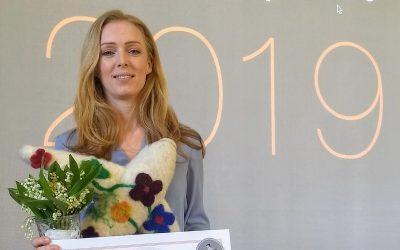 Maja Rosén prisad för sitt civilkurage