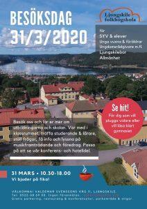Besöksdag Ljungskile folkhögskola 2020