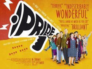 pride affisch för filmen