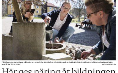 Folkhögskolans dag uppmärksammad i Bohusläningen